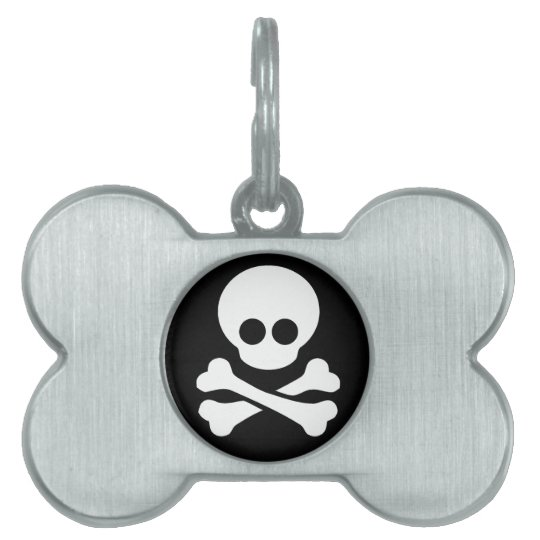 Pirate Dog and Cat Tag