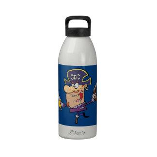 Pirate drôle bouteille d'eau