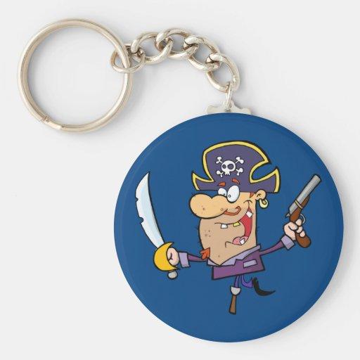 Pirate drôle porte-clés