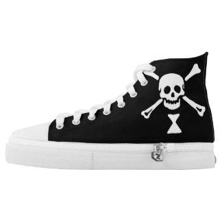 Pirate Emanuel Wynn Flag High Top Sneakers