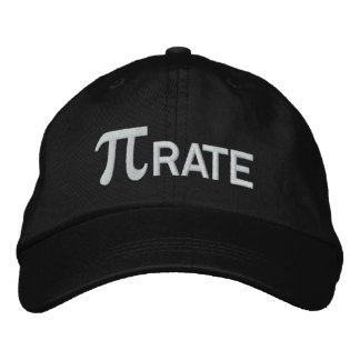 Pirate Embroidered Baseball Caps