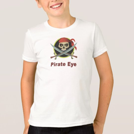 Pirate Eye Kids T-shirt