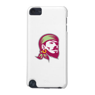 Pirate Eyepatch Headscarf Looking Up Retro iPod Touch 5G Cover