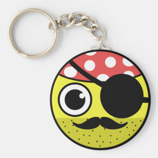 Pirate Face Keychain