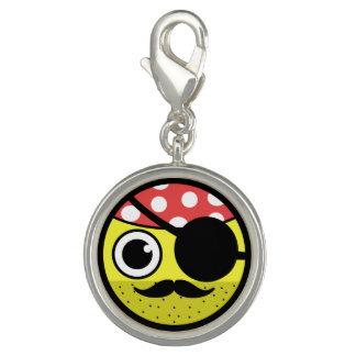 Pirate Face Photo Charms