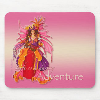 Pirate Fairy Mouse Pad