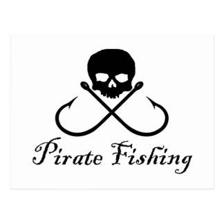 Pirate Fishing Postcards