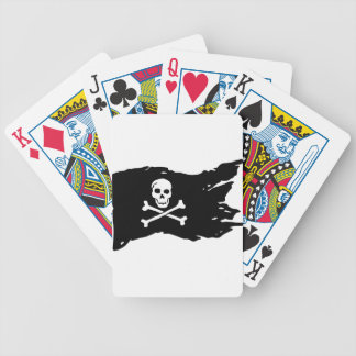Pirate Flag Bicycle Playing Cards