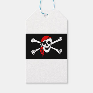 Pirate Flag Bones Skull Danger Symbol Gift Tags