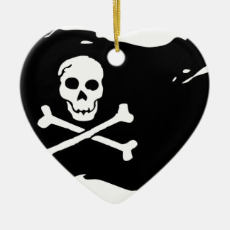 Pirate Flag Ceramic Ornament