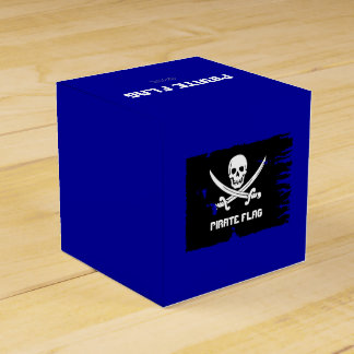Pirate Flag Drink Recipe Party Favor Box