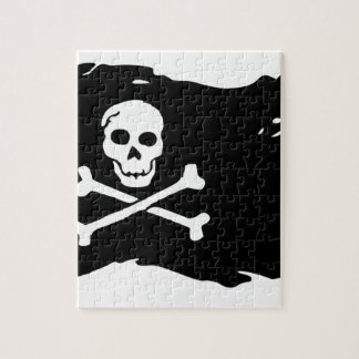 Pirate Flag Jigsaw Puzzle