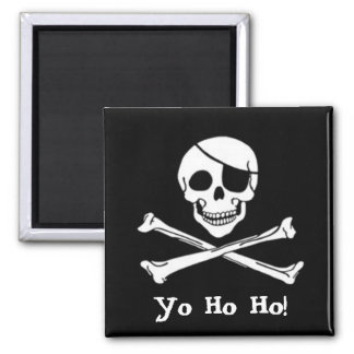 Pirate Flag Jolly Roger Magnet