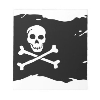 Pirate Flag Notepad