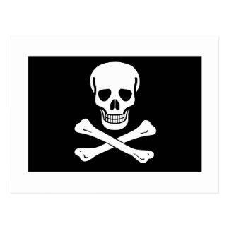 Pirate Flag Postcard