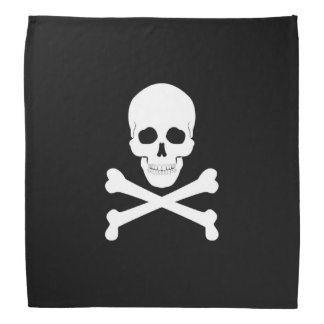 Pirate Flag Skull and Crossbones Jolly Roger Bandana