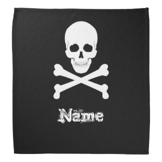 Pirate Flag Skull and Crossbones Jolly Roger Bandanna