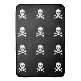 Pirate Flag Skull and Crossbones Jolly Roger Bath Mat
