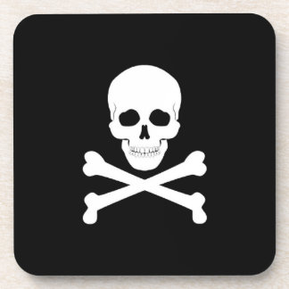 Pirate Flag Skull and Crossbones Jolly Roger Coaster