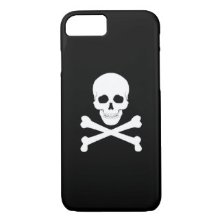 Pirate Flag Skull and Crossbones Jolly Roger iPhone 8/7 Case