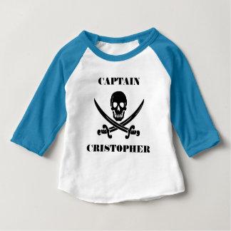 Pirate flag skull baby T-Shirt