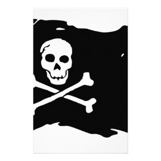 Pirate Flag Stationery
