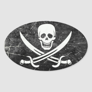 Pirate Flag Stickers