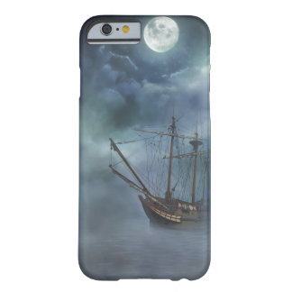 Pirate Ghost Ship in Fog Barely There iPhone 6 Case