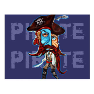 Pirate Gifts Post Card