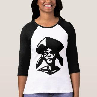 pirate girl baseball style t shirts
