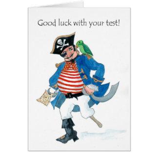 Pirate Good Luck Card