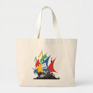 Pirate Google Tote Bag
