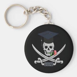 Pirate Graduate 2012 key chain