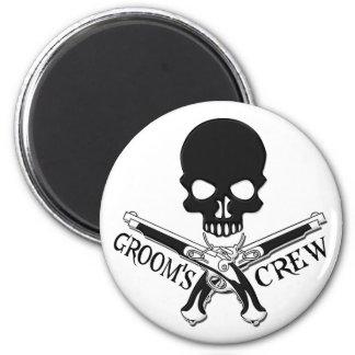 Pirate Groom's Crew Magnet