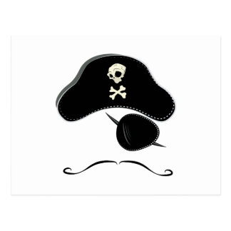 Pirate Hat Postcard