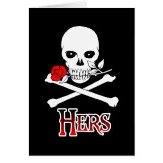 Pirate Hers Card