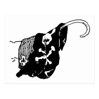 Pirate Hook Postcard