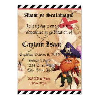 Pirate Invite 5x7
