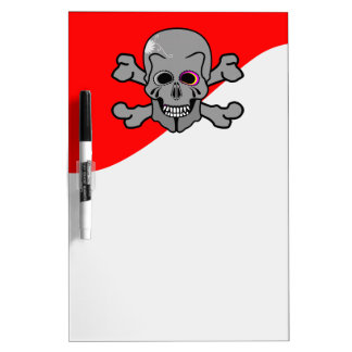 Pirate, Jolly Roger Dry-Erase Whiteboard