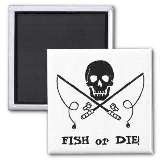 Pirate Jolly Roger Fishing Magnet