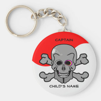 Pirate, Jolly Roger Keychain