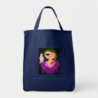 Pirate Jules The Eco Pirate- Tote bag