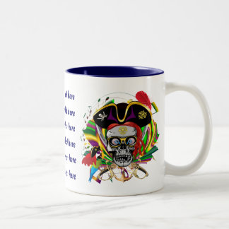Pirate King All Styles  View Hint Two-Tone Coffee Mug