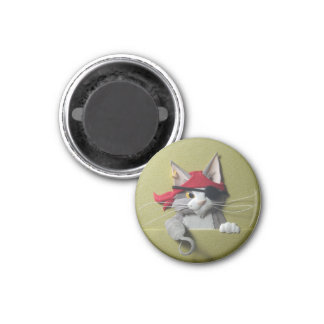 Pirate Kitten #2 Magnet
