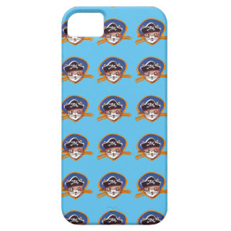 pirate kitty cartoon style funny illustration iPhone 5 covers
