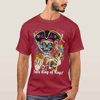 Pirate Lafitte All Styles Mens View Hints T-Shirt