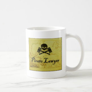 Pirate Lawyer Mug Hostile Takeover with Map