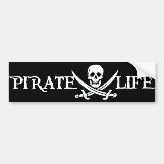 Pirate Life Caribbean Pirates Bumper Sticker