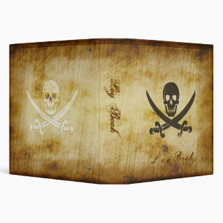 "Pirate Log Book Custom 1.5"" Binder"