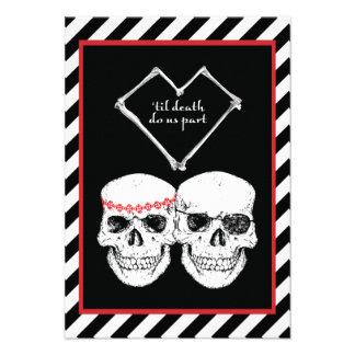 pirate love personalized invitation